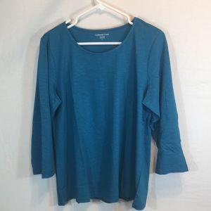 Coldwater Creek Large Long Sleeve Shirt NWOT